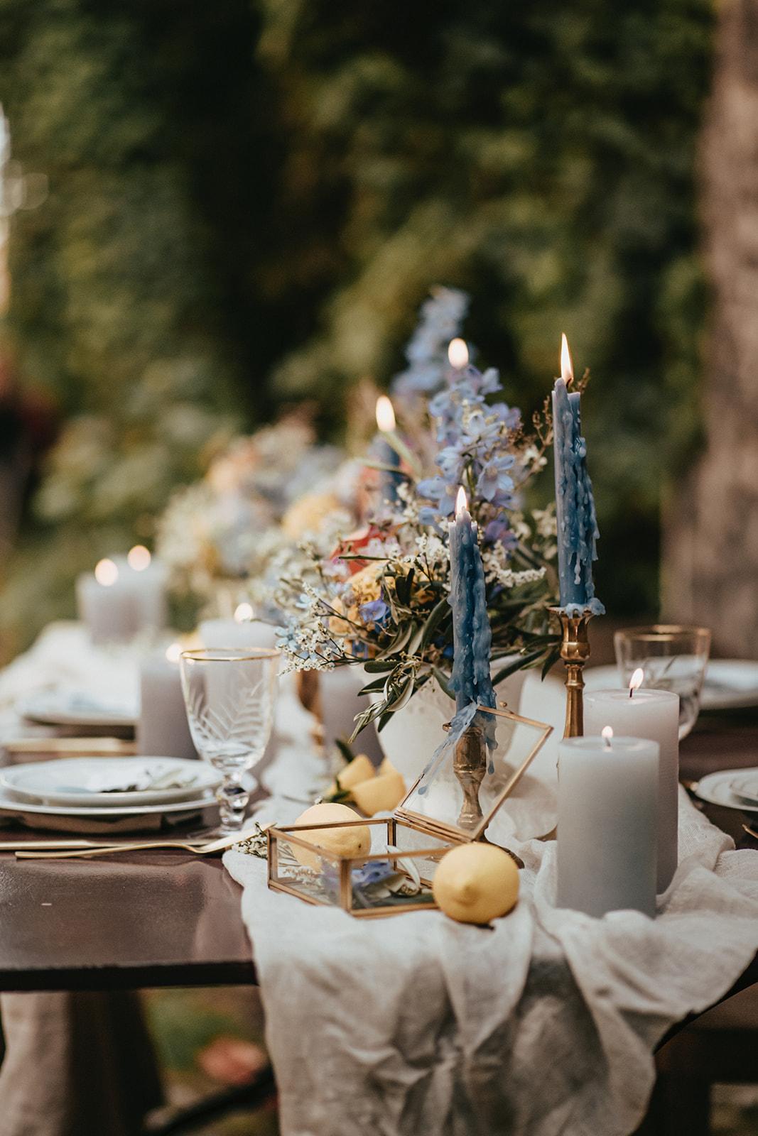 Toscana Table Setting Shooting